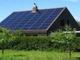 Sončne celice na hiši